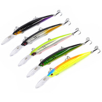 5- color 15. 2cm 12. 55g Hard Plastic Lures Fishing Hooks Fishh...