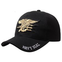Mens Military Cap Army Hats With Adjustable Strapback And Cu...