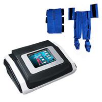 Fern Infrarot Pressotherapie-Lymph-Entwässerungsmaschine 18 Air Bags Luftdruck Pressotherapie Körpermassage Körper Detox Gewichtsverlust für Salonbenutzung