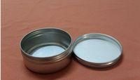 83 * 34mm는 알루미늄 콘테이너 촛대 알루미늄 단지 150ml 크림 깡통 둥근 주석 알루미늄 크림 단지
