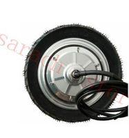 """9 """"500 Watt 48 V singal welle elektrische schubkarre motor, rad-motor, elektrische radnabenmotor für roller"""