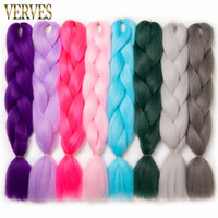 Synthetic Braiding Hair Extensions 24' ' 100g pcs H...
