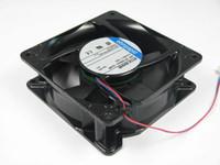 ebmpapst 4114NHHR 4114 NHHR постоянного тока 24В 12,5 Вт 2-проводной 2-контактный разъем 120мм 119X119X38mm сервер вентилятора охлаждения площади
