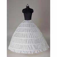 Modabelle 레이스 가장자리 6 후프 Petticoat Underskirt 공 가운 웨딩 드레스 속옷 Crinoline 웨딩 액세서리
