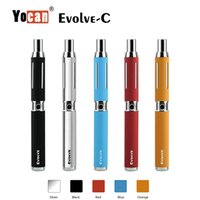 Yocan Evolve-C Kit для восковой масляной катушки 650mah Battery Box Mod Wax Atomizer Oil Atomizer Включено Yocan Hive Kit