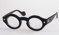 نظارات عالية الجودة-أزياء خمر دائرية إطار كامل الرجال والنساء النظارات قصر النظر النظارات الإطار