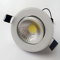 Dimmable COB LED Downlight led recessed ceiling lights 9W AC...