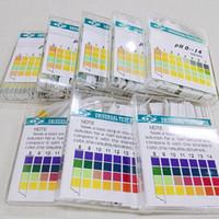 100 strisce Litmus pH Test carta ph strip 0-14 Tester di qualità dell'acqua