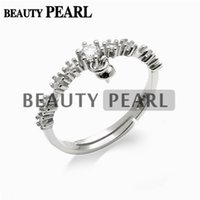 5 Pieces Dangle Pearl Ring Mount Blank Jewellery Findings 92...