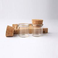 5g Frascos De Vidro pequenos com rolhas rolhas de 5 ml De Vidro De Alta Qualidade / Frasco De Vidro Mini Tubo De Ensaio