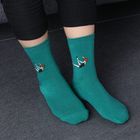 2017 Women Girls chaussette Style Socks Colorful Casual Pill...