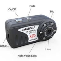 Full HD 1080P Mini DV видеокамера Q5 ИК ночного видения мини камера видеонаблюдения портативный большой палец мини DV DVR черный