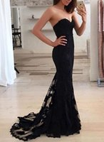 Fast Shipping 2019 Sexy Vestido De Party Prom Dresses Black ...