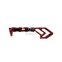 Arrêt manuel ACI MOD FOREGRIP Cale de préhension pour poignées en aluminium M-LOK / MLOK (Noir / Rouge / Tan / Argent) indestructible