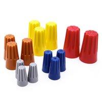 175 조각 Suyep 나사 고정 와이어 커넥터 표준 유형 P1 회색 P2 파란색 P3 주황색 P4 노란색 P6 빨간색 구색 키트