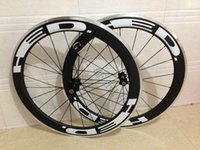 Powerway R13 Hub 494 spokes HED 60mm White decals Carbon Roa...