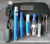 4in1 Starter Kit per vaporizzatori EVOD MT3 Atomizzatore Vetro Globe Wax Dome Dry Herb CE3 Cartridges Oil 4 in 1 Vape Pen Kit