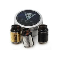 Signos RDA Atomizers With Wide Bore Drip Tip 24mm PEEK Insul...