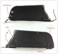 UE Darmowy podatek Podatek Ebike Bateria Dolphin 36 V 8AH Pakiet baterii litowo-baterii 36 V 250 W Down Rury Elektryczna bateria rowerowa z 20a BMS
