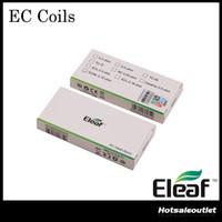 オリジナルエレーフECヘッド0.3OHM 0.5OHM EC NC 0.25OHM ECセラミックヘッド0.18OHM ECLヘッド0.75OHM ECMLコイル1 atomizerメロ3タンク
