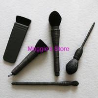 Commercio all'ingrosso-2015 Nuova raccolta di spazzola 5pcs Top Kabuki Brush Ita Yachiyo Mie Mizubake Eye Kabuki Set di pennelli trucco Kabuki Spedizione gratuita