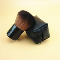 NUEVO Profesional 182 Rouge Kabuki Blusher Blush Brush Base de Maquillaje Polvo Facial Maquillaje Cepillos Set Kit de Herramientas Cosméticas con M Marca