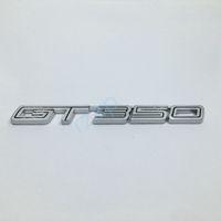 Metal de prata GT350 Emblem Car Fender lado da etiqueta para a Ford Mustang Shelby Super Snake COBRA GT 350