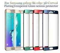 For S8 iPhone 6 7 Plus S6 edge S7 Edge 0. 2MM 3D Full Screen ...