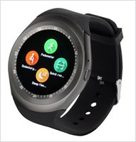 U1 Y1 smart watch 1. 54 inch IPS Round Touch Screen Water Res...