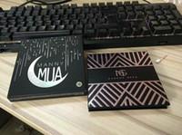 المصنع مباشرة DHL شحن مجاني جديد ماني MUA X ماكياج عينيه لوحة ظلال LE BNIB 9 لون عينيه!