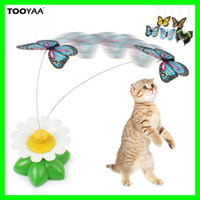 Hot Cats Playing Toys Pet Kitten Toys Electric Rotating Butt...