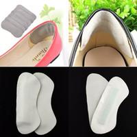 Scarpe tacco alto posteriore del cuoio rilievo del piede di cura dell'ammortizzatore Protector fodera del sottopiede di trasporto 2pcs / lot