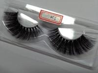 Natürliche Nerz-falsche Wimpern 10 Paare Lange Wimpern-hohe Qualität 3D Seide gefälschte Augen-Wimpern Verlängerung Fabrik-Preis