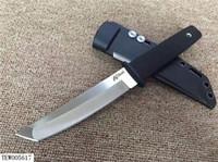 Новое прибытие Холодное 17T KOBUN Выживание Stright нож танто точка сатин лезвия Utility Фиксированный нож Охота Ручной инструмент