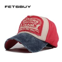 Wholesale- FETSBUY Good Quality Brand Fitted Cap For Men Wom...
