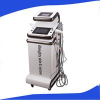 Análise da pele multifuncional de água oxigênio real máquina de casca de Jato / omnipotente jato de oxigênio / oxigênio real máquina de tratamento facial acne
