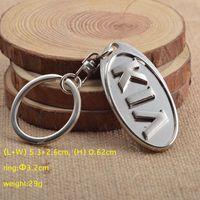 الجملة 3d الفضة المعادن السيارات المفاتيح سيارة كيرينغ مفتاح سلسلة حلقة ل كيا k2 k3 k4 k5 ليوبارد مفتاح حامل KEYFOB 4S هدية