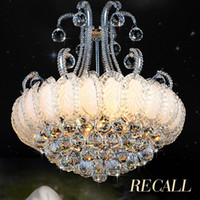 Silver Gold Crystal Chandelier Lighting Fixture Modern Chand...