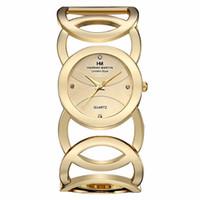 HM-WQ01 هانا مارتن العلامة التجارية الجديدة سيدة الذهب المرأة الساعات الصلب حزام سوار casualfashion الكوارتز مشاهدة النساء relojes موهير