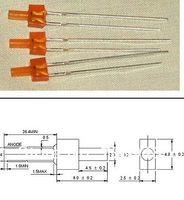 MÉLANGE traversant tour 2mm LED diode rouge / vert / bleu / jaune / orange couleur