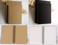 21x14 سنتيمتر كرافت ورقة المفكرة اللوازم المدرسية مكتب الإبداعي كراسة الرسم كتابات دفاتر فارغة لفائف دفتر السفر جيب الألبان