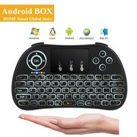 Wireless Backlit Mini Keyboard P9 Fly Mouse Multi- Media Remo...