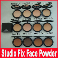 11 couleurs HOT NOUVEAU Maquillage Studio Fix Face Powder Plus Foundation 15g Haute qualité nc20-nc55 DHL