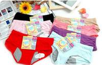 Großhandels-Qualitäts-Frauen-reizvolle Baumwoll Nacht Menstrual Unterwäsche Gesundheit Physiologie Zeitraum Leakproof Hosen-freies Verschiffen