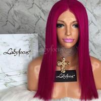 Dame Focus perruque Rose Rose Full Dentelle Perruques de cheveux humains avec bébé cheveux 180 densité vague naturelle dentelle avant perruque 9a cheveux vierges