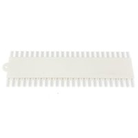 Wholesale- 48pcs / set falschen Nagel-Kunst-Spitzen-Sets Sticks Brett Fächerförmig Anzeige Werkzeuge polnisches Gel Praxis Weiß / Clear Transparent Dekoration