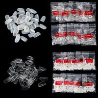 1 сумка для 600 Ложные Nail Art Советы Полный Круглый акриловые УФ-гель для ногтей Советы для украшения