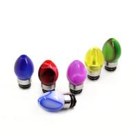 Acryl-Tropfspitzen 510 E-Zigarette Zubehör Bunte Glühbirnen in Form eines hellen Sternes