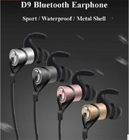 D9 Sport Wireless Bluetooth V4. 1 In- ear Headset Waterproof S...