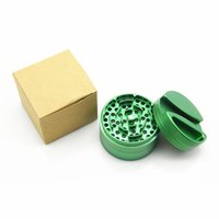 New style 4 layers herb grinder diameter 75mm Aluminium Allo...